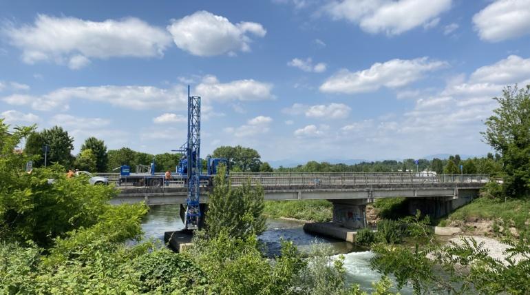 Bridge BSSP021-P001 SP21 Travagliato – Bagnolo Mella, Municipality of Capriano del Colle (BS)